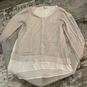 Lucky Brand Cream Shirt